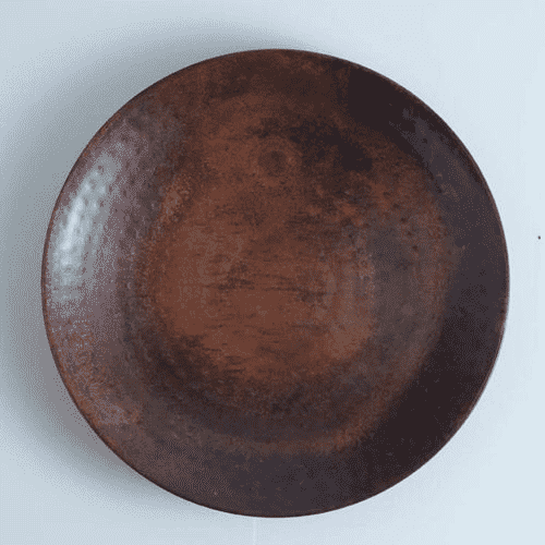 Round Copper Wall Plate