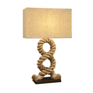 Twisted Rope Pier Lamp Lamp