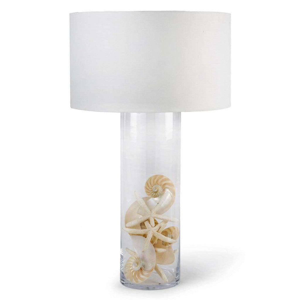 Display Glass Cylinder Lamp Lamp