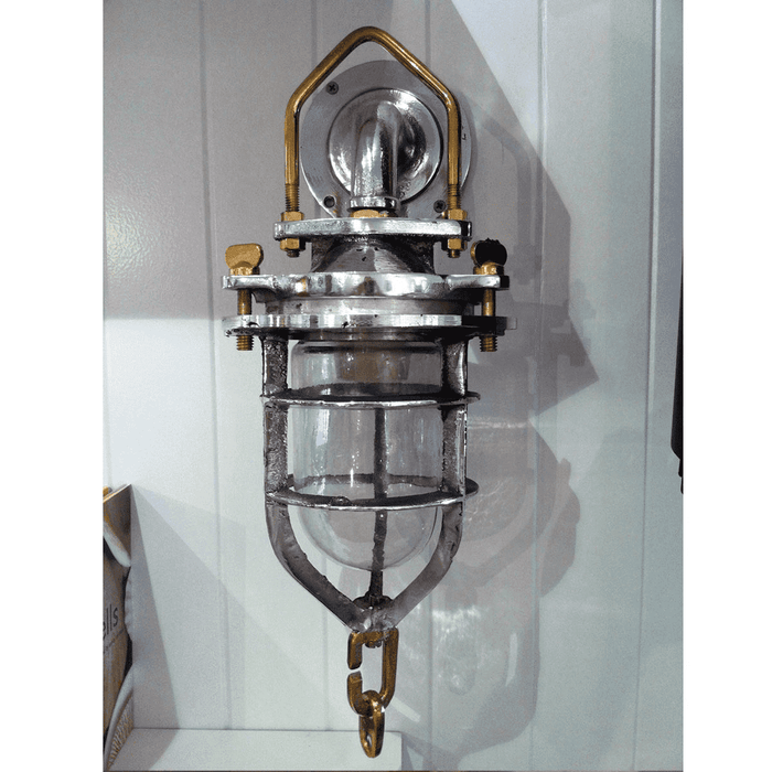 Aluminum Convoy Sconce Light (Option for no UL Wiring)