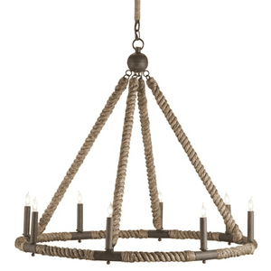 Sag Harbor Rope Chandelier Chandelier