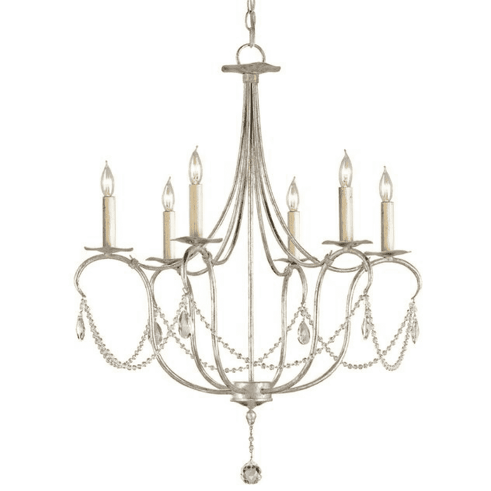Coventry Crystal Beaded Chandelier - Two Sizes
