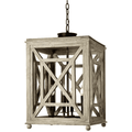 Harbor White Washed Hanging Light Chandelier