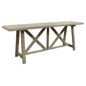 Cape Cod Weathered Console Table Console