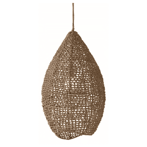 Seagrass Teardrop Pendant Pendant Light