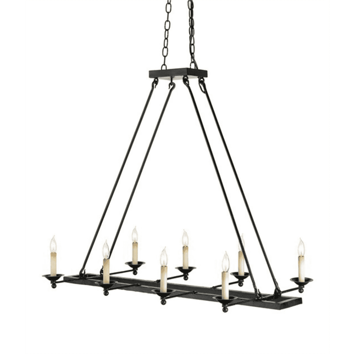 Cape Lookout Candlelight Chandelier