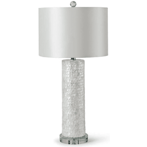 Scalloped Capiz Column Lamp Lamp