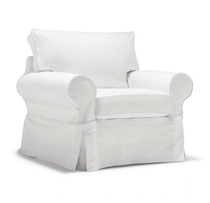 "Nantucket II 39"" Slipcovered Stationary Chair Slipcovered Chair"