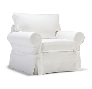 "Nantucket II 39"" Swivel/Glide Chair - Slipcover ONLY"