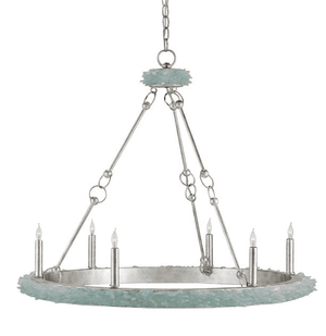 Sea Glass Round Chandelier Chandelier