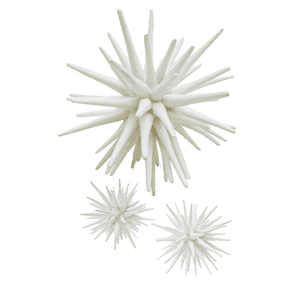 White Sea Urchin ( 3 sizes) Decor