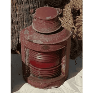 Authentic Red Lantern Ship Salvage