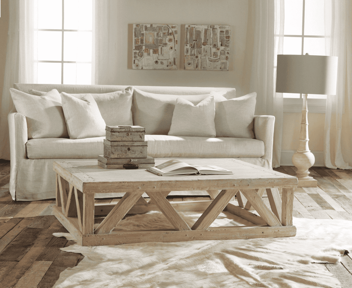 Mykonos Large Rectangle Coffee Table