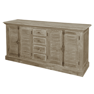Server With Plantation Drawers Sideboard