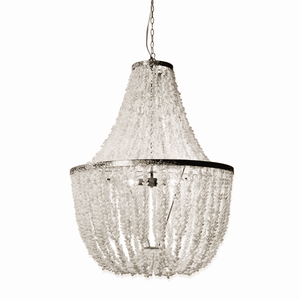 Pure White Shell Chandelier Chandelier