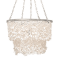 White Clam Shell Chandelier Chandelier