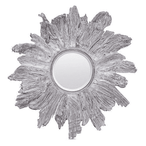 White Washed Wood Mangrove Mirror Mirror