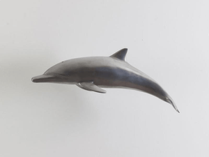 Dolphin in Polished Aluminum