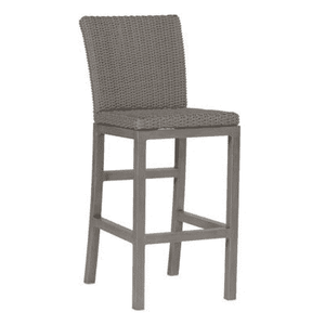 "Malibu Outdoor Wicker 30"" Bar Stool Outdoor Furniture"