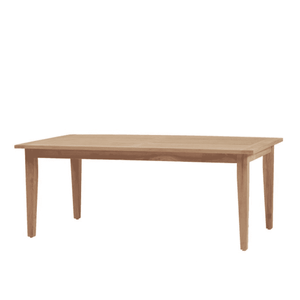 "Montauk Teak 77"" Rectangular Outdoor Dining Table Outdoor Furniture"