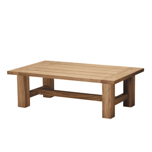 "Montauk Teak 48"" Outdoor Coffee Table Outdoor Furniture"