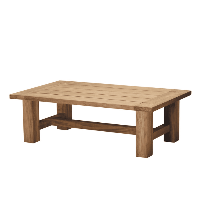 "Cape Cod Natural Teak 48"" Outdoor Coffee Table"