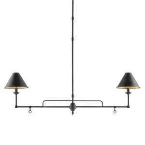 "Windward Linear 45"" Chandelier Linear Chandelier"