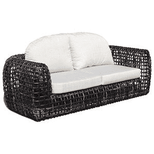 Dune Road Outdoor Sofa With Canvas Cushion Outdoor Furniture