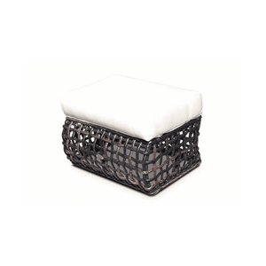 Dune Road Outdoor Ottoman With Cushion Outdoor Furniture