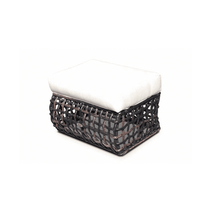 Dune Road Outdoor Ottoman With Cushion