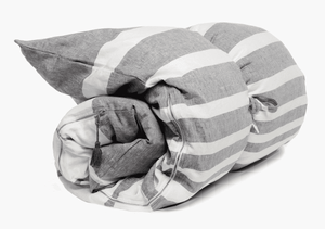 Hatteras Throw Bed in Charcoal Floor Pillow