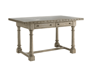 "Hampton Gray Driftwood 66"" Dining Table Dining Table"