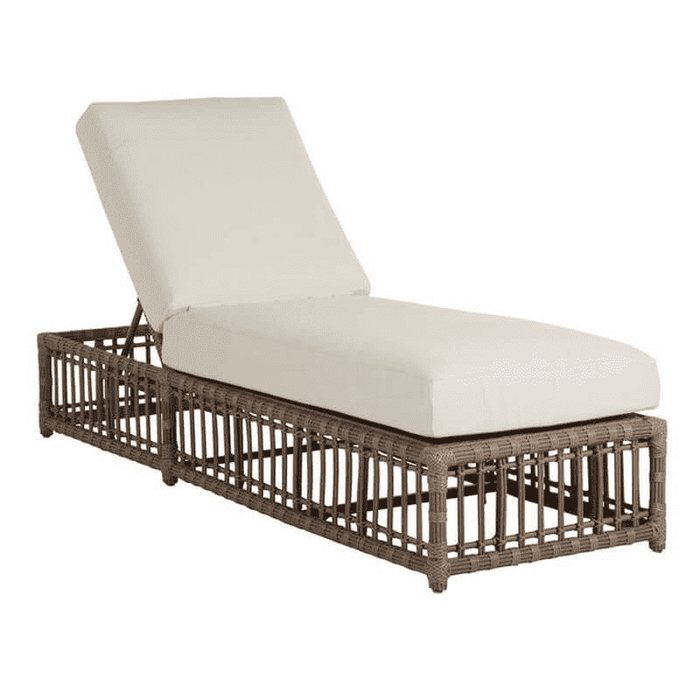 "Newport 28"" Outdoor Chaise w/Cushion"