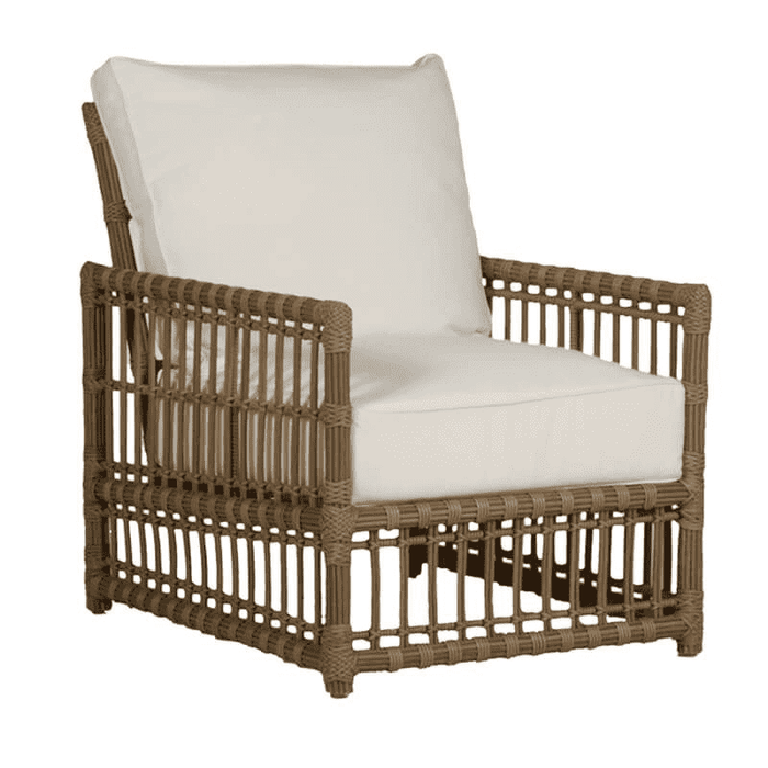 "Newport 28"" Outdoor Lounge Chair w/Cushion"