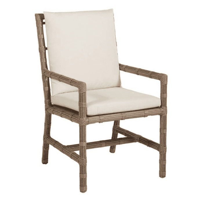 "Newport 23"" Outdoor Dining/Accent Arm Chair w/Cushion"