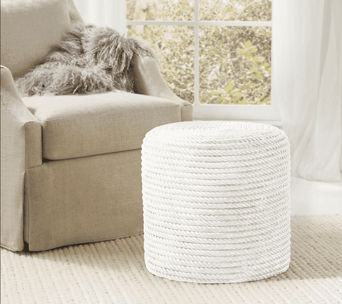 Rope Stool White