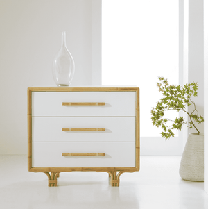 "Bamboo 36"" Bedside Chest Chest"
