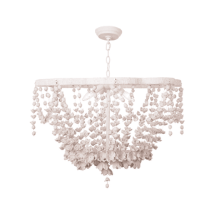 White Blooms Chandelier Chandelier