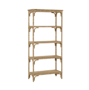 Portofino Abaca Rope Bookcase/Etagere Shelf