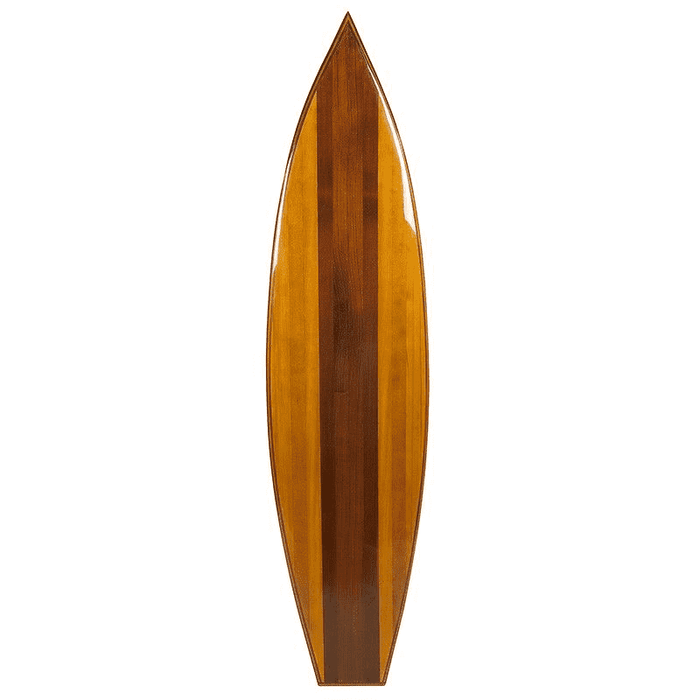 Boho Wooden Surfboard