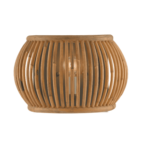 Anse Soleil Rattan Wall Sconce Sconce