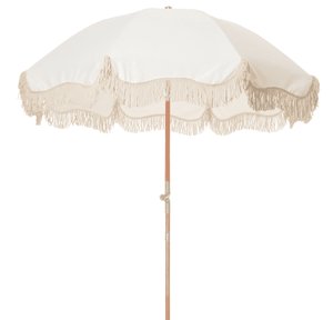 The Premium Beach Umbrella - Antique White Beach