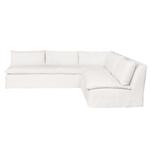 "Laguna 2-Piece 113"" x 113"" L- Shape Sectional Slipcovered Sectional"