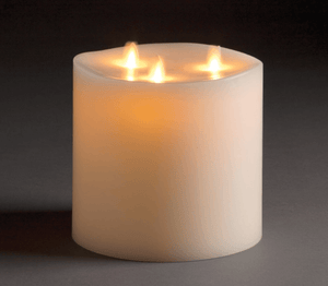Flameless Indoor Candles - Various Sizes Candle Size_6x6