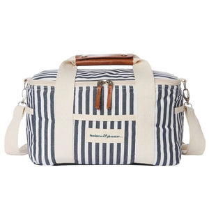 The Premium Cooler Bag - Lauren's Navy Stripe Beach