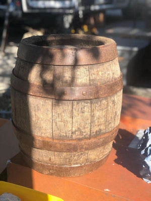 Authentic German Keg Barrel Vintage