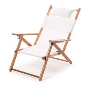 The Tommy Beach Chair - Antique White