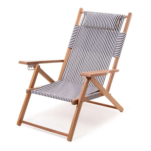 The Tommy Beach Chair - Lauren's Navy Stripe