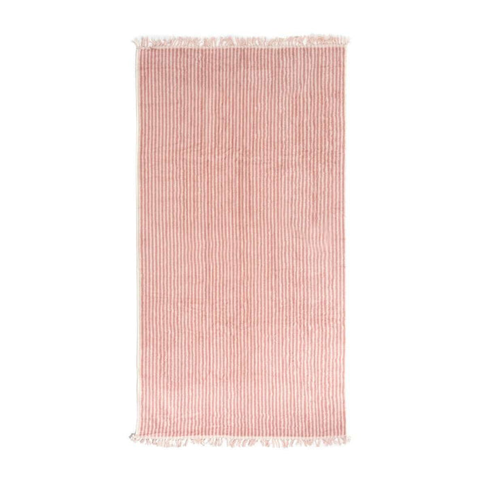 The Beach Towel - Lauren's Pink Stripe