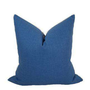 Compliment Linen Pillow (Cadet) Pillow Cadet